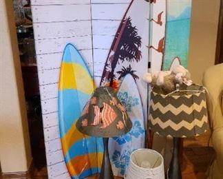 Surfboard Room Divider $95 OBO