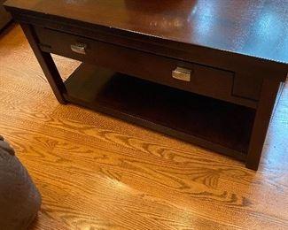 Wood coffee table 175.00
