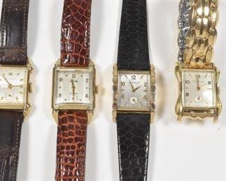 4 - 1950's Wristwatches