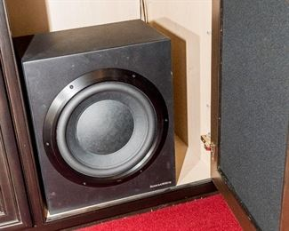 Woofer to set of Bowers and Wilkins Speaker set.