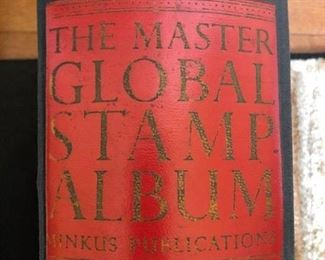 Minkus Global Stamp album.. all countries through 1949 with highly collectible early Chinese Big Dragon 1 and 3 Candarin denominations. See following pages.