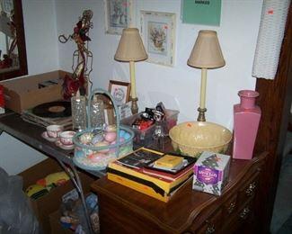 LOWBOY, LAMPS, RECORDS & SMALLS