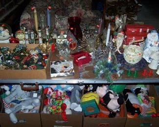 HOLIDAY ITEMS & SOME  OF THE NEW PLUSH TOYS