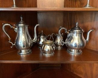 Sterling Tea Service with no Tray