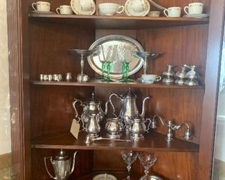 Collection of Sterling and China