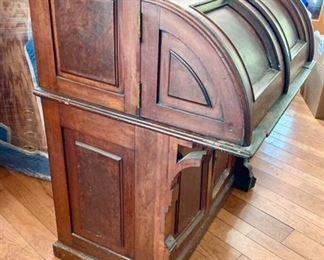 Wooton style desk once belonged to Edwin Mc Masters Stanton