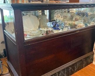 Beautiful store display case by J.E. Grelick, Traverse City
