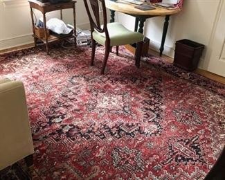 """93. Hand Knotted Area Rug (9' x 11'6"""")"""