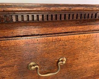 Detail -dentil molding, antique