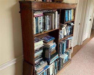 Books -also note antique book case