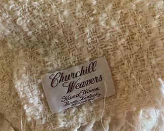 Berea, Kentucky woven throw