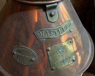 "Copper and brass ""Masthead"" ships lantern/light house lantern"