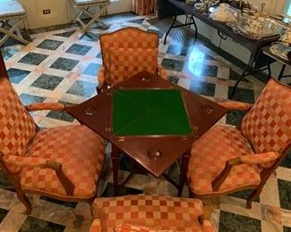 Game table -folding