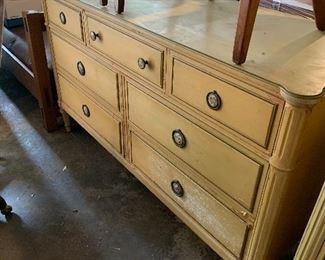 Davis Cabinet Ash painted set, 3 pieces