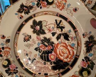 Mason's Mandarin dinnerware, large service