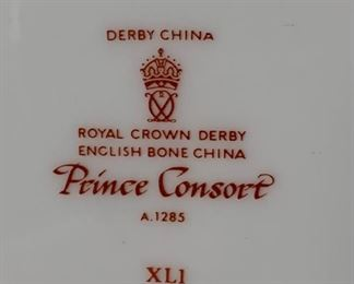 Prince Consort Derby China