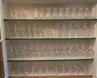Galway -fine Irish crystal -nearly 100 pieces; Ireland