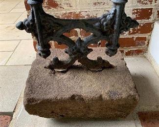 Antique boot scrape