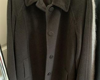 Vintage wool trench