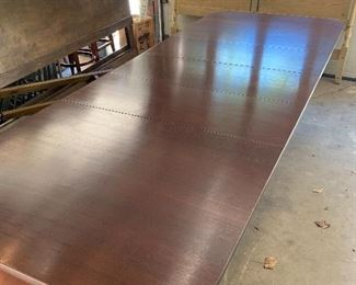 Banquet sized dining table
