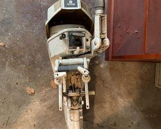 Vintage Chrysler 6HP outboard motor