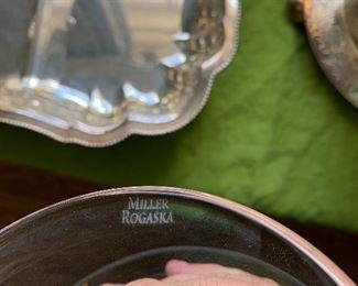 Miller Rogaska crystal bowl