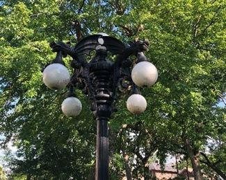 Gargoyle Garden Lanterns