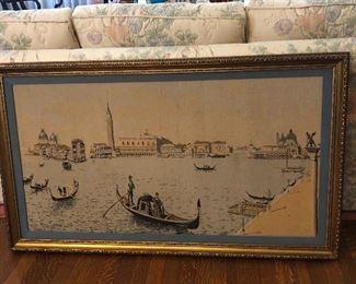 BUY IT NOW $250.000 Early 1900's Venetian tapestry.