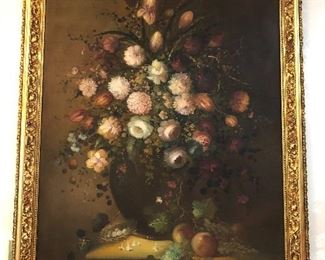 Incredible Art - this still life is almost 4 tall.