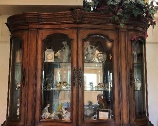 BUY IT NOW $995.00 Incredible! This is French China Cabinet is beautiful