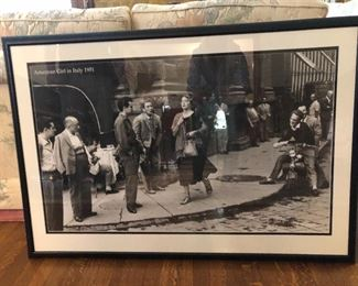black and white posters     STREET SCENE                                   BUY IT NOW $20.00