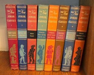 Vintage Junior Classic Books