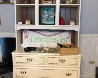 BUY IT NOW $99.00 white cabinet dresser
