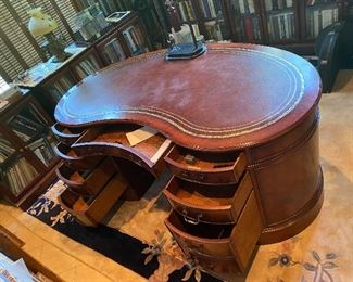 The Dr's own personal mahogany desk