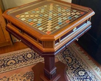 Franklin Mint Limited Edition Scrabble Game