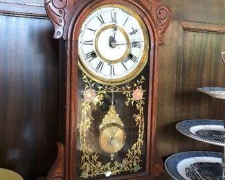 BUY IT NOW $295.00 Antique Gingerbread Clock