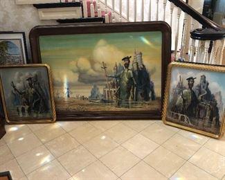 Don Quixote Triptych