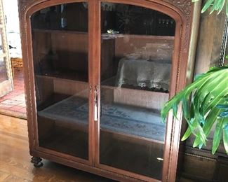 Antique Bookcase Approx. 5' Tall                                                             BUY IT NOW $1250.00