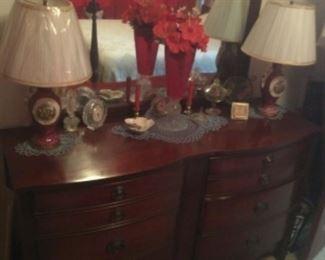 Mahogany Dresser (Part Of The Mahogany Bedroom Suite)