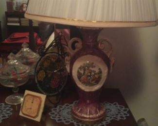 A Pair Of Victorian Lamps