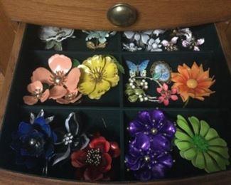 Lots Of Enamel Jewelry