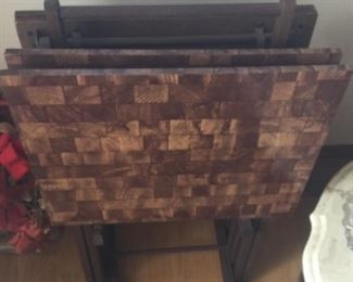 Set Of 4 TV Tables
