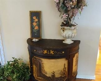 """Maitland Smith Decorated Cabinet - 40"""" w x 21"""" d x 31"""" h"""