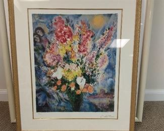 Signed Chagall