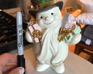 Lenox snowman