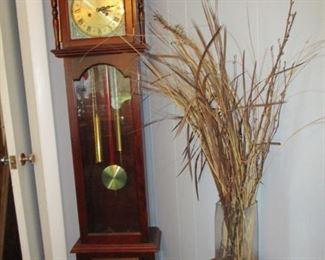 tall clock & stand