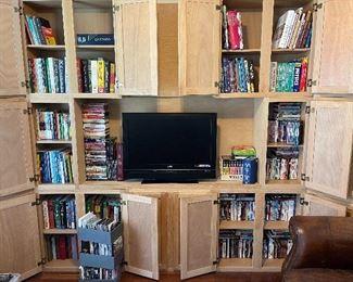 TV, Books, DVD's, CD's, Books on Tape