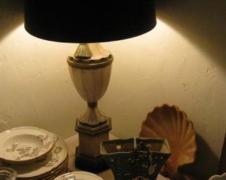 Grecian Urn Lamp