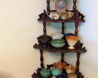 Great pottery/ corner display