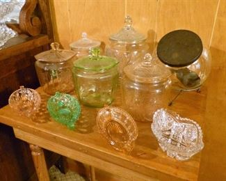 Very nice lidded jars
